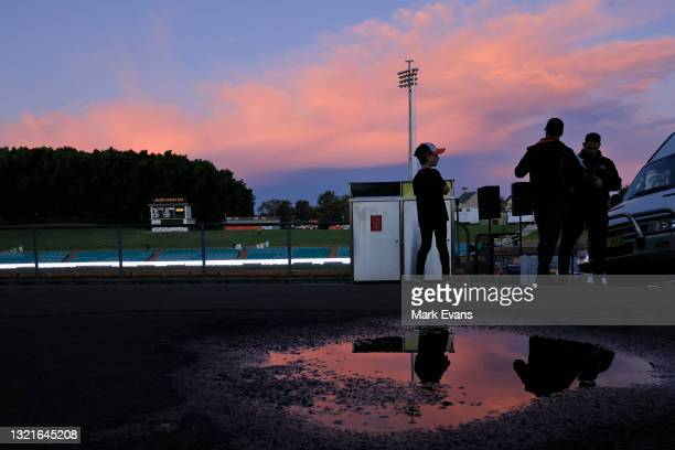 General view of the ground before the round 13 NRL match between the Wests Tigers and the Penrith Panthers at Leichhardt Oval, on June 04 in Sydney,...