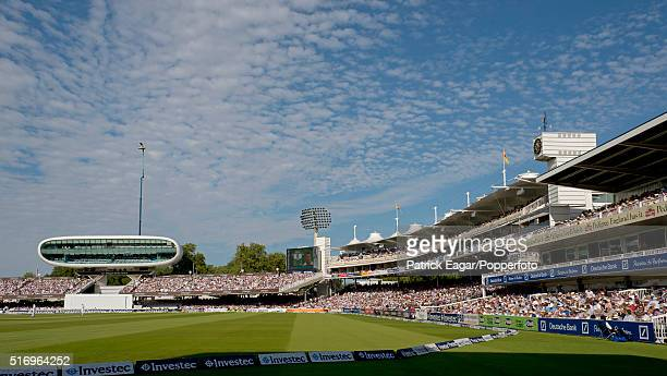 General view of the ground during the 3rd Test between England and South Africa at Lord's Cricket Ground London 18th August 2012 South Africa won the...