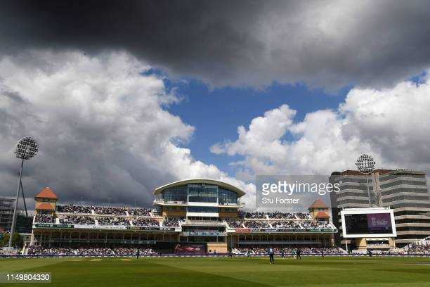 General view of the ground during the 4TH One Day International between England and Pakistan at Trent Bridge on May 17, 2019 in Nottingham, England.