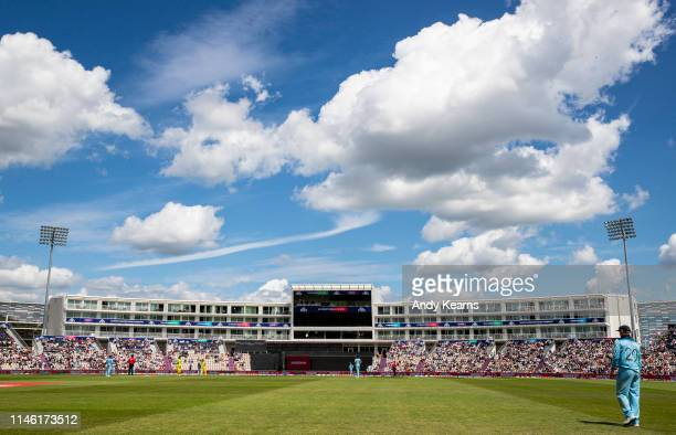 A general view of the ground during the ICC Cricket World Cup 2019 Warm Up match between England and Australia at Ageas Bowl on May 25 2019 in...