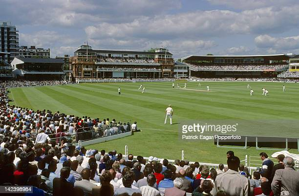 'LONDON JUNE 13 General view of the ground GV England v Pakistan World Cup Lord's 1983 E835174'