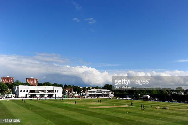 General view of the ground prior to the NatWest T20 Blast match between Kent and Surrey at The County Ground on May 29, 2015 in Beckenham, England.