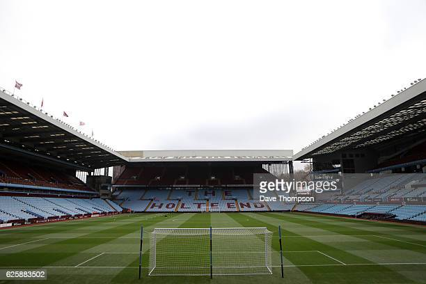 A general view of the ground prior to the Sky Bet Championship match between Aston Villa and Cardiff City at Villa Park on November 26 2016 in...