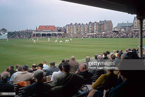 General view of the ground T N Pearce's XI v Rest of the World XI at Scarborough 1970