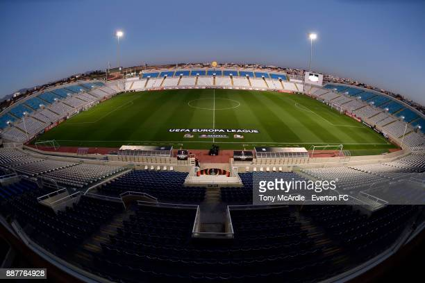 General view of the GSP Stadium before the UEFA Europa League Group E match between Apollon Limassol and Everton at GSP Stadium on December 7, 2017...