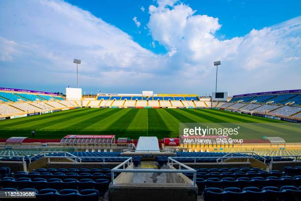 General View of the GSP Stadium during a training session at The GSP Stadium, on November 15 in Nicosia, Cyprus.