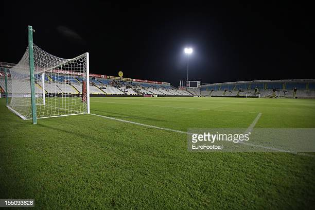 General view of the GSP Stadium, home of AEL Limassol FC taken during the UEFA Europa League group stage match between AEL Limassol FC and Fenerbahce...