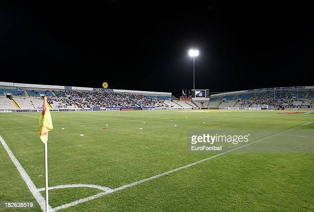 General view of the GSP Stadium, home of Apollon Limassol FC taken during the UEFA Europa Leaque group stage match between Apollon Limassol FC and...