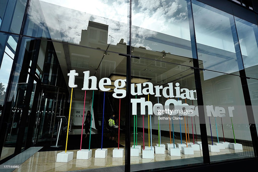 Guardian Newspaper Told To Destroy NSA Files For National Security : News Photo