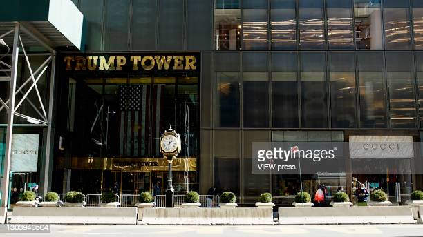 General view of the Gucci store on Fifth Avenue in Trump Tower on February 24, 2021 in New York City. Gucci extended its lease in Trump Tower where...