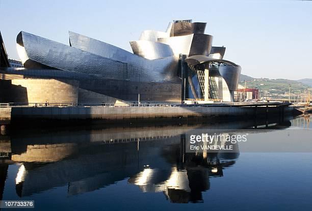 General view of the Guggenheim Museum in Bilbao, Spain on October 15, 1997.