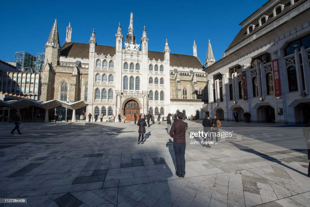 Guildhall in London : ニュース写真