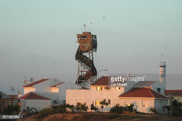 A general view of the Gush Katif settlement of Morag Wednesday July 6 2005