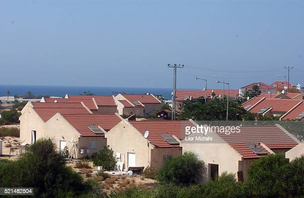 A general view of the Gush Katif settlement of Peat Sade Tuesday July 12 2005