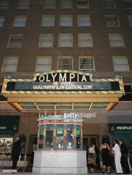 A general view of the Gusman Theater during the Miami International Film Festival PreParty on March 3 2006 in Miami Florida
