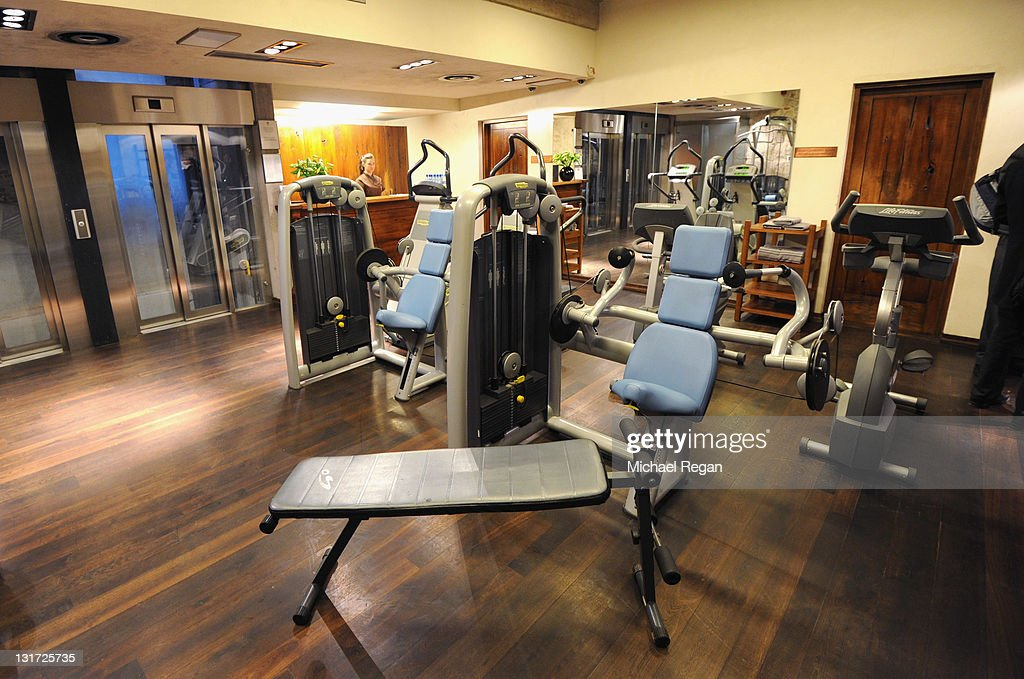A general view of the gym in the spa of Hotel Stary which will host the England football team during Euro 2012 on November 7, 2011 in Krakow, Poland.