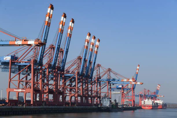 DEU: Hamburg Port As Fears Rise Over Global Economic Recession Due To Coronavirus Pandemic
