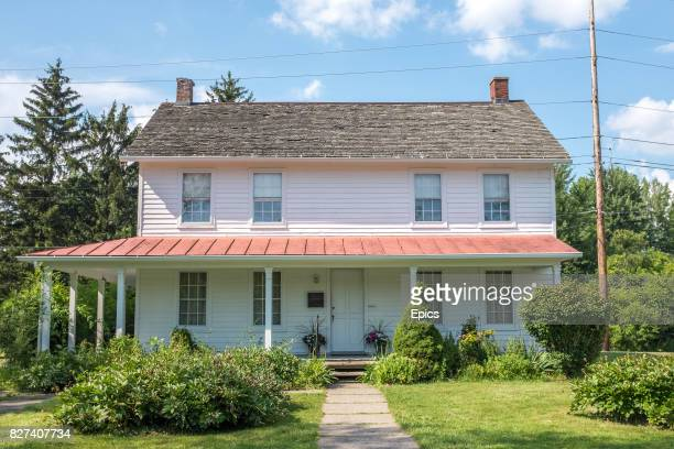 A general view of the Harriet Tubman home for the aged which was set up by American abolitionist and humanitarian Harriet Tubman in Auburn New York...