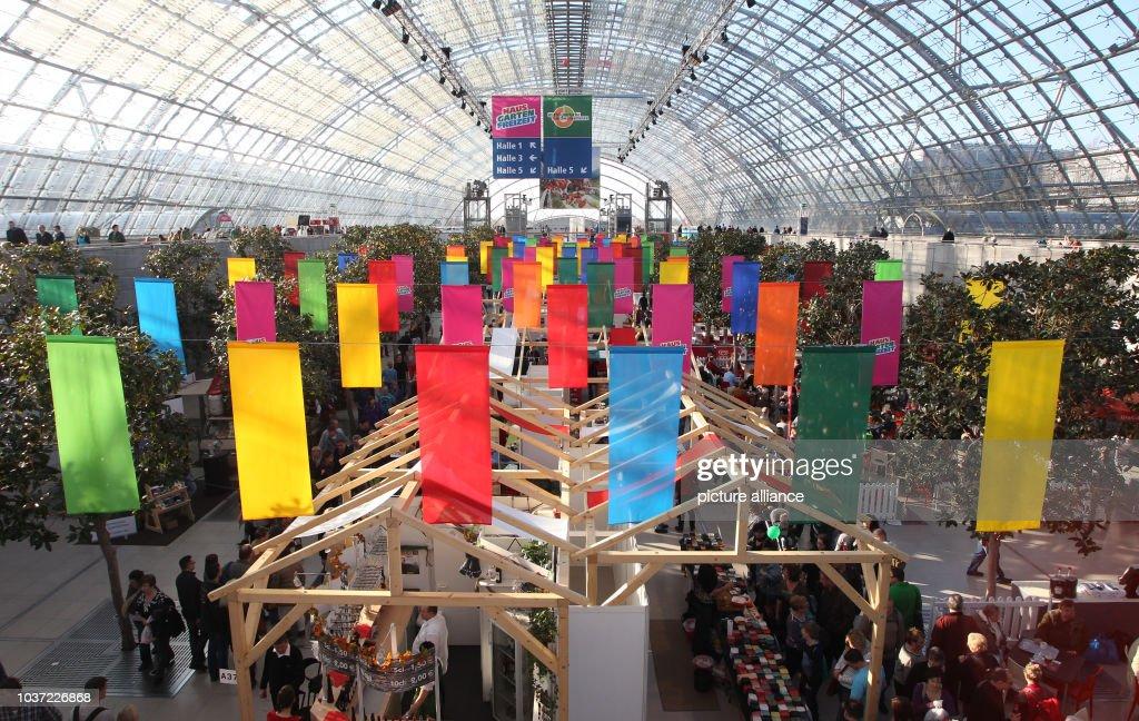 General View Of The U0027HausGartenFreizeitu0027 Trade Fair In Leipzig Germany 13  February 2016 Offers