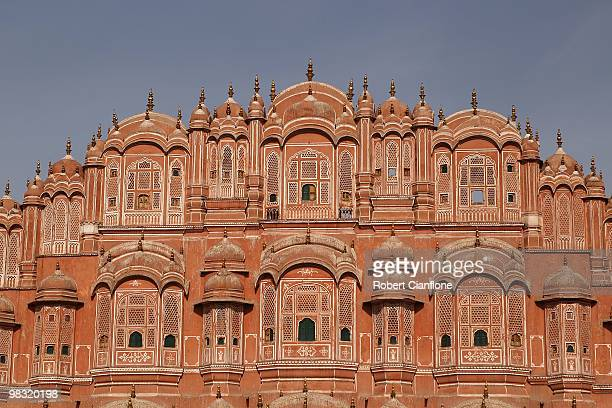 General view of the Hawa Mahal on April 8 2010 in Jaipur India