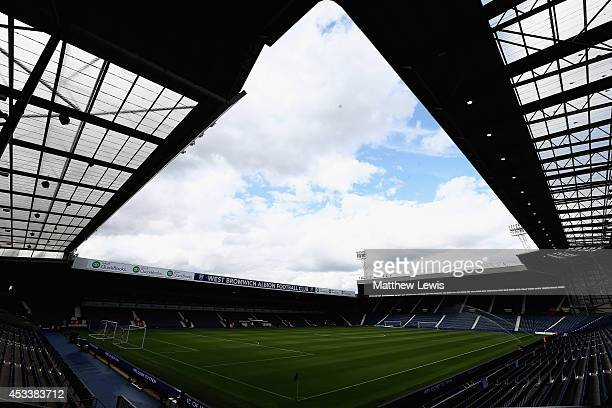 A general view of the Hawthorns ahead of the Pre Season Friendly match between West Bromwich Albion and FC Porto at The Hawthorns on August 9 2014 in...