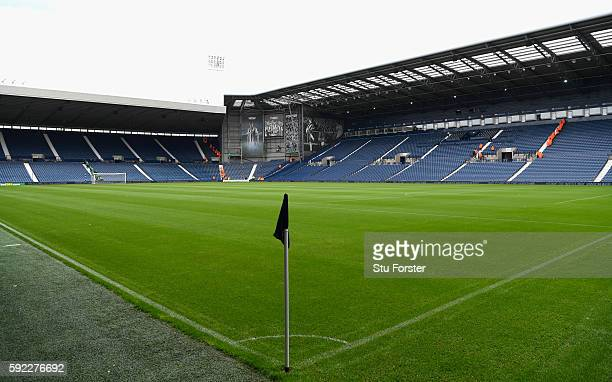 A general view of The Hawthorns before the Premier League match between West Bromwich Albion and Everton at The Hawthorns on August 20 2016 in West...