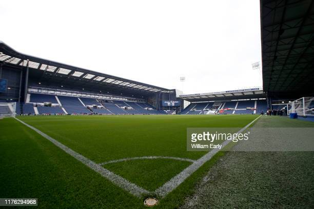 General view of The Hawthorns before the Sky Bet Championship match between West Bromwich Albion and Huddersfield Town at The Hawthorns on September...