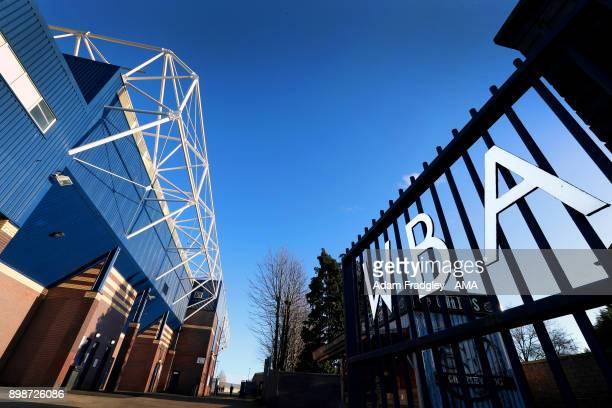 A general view of The Hawthorns home of West Bromwich Albion prior to the Premier League match between West Bromwich Albion and Everton at The...
