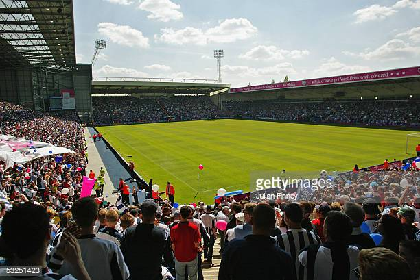 A general view of the Hawthorns prior to the Barclays Premiership match between West Bromwich Albion and Portsmouth at The Hawthorns on May 15 2005...