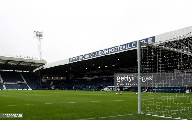 General view of the Hawthorns prior to the Sky Bet Championship match between West Bromwich Albion and Derby County at The Hawthorns on July 08, 2020...