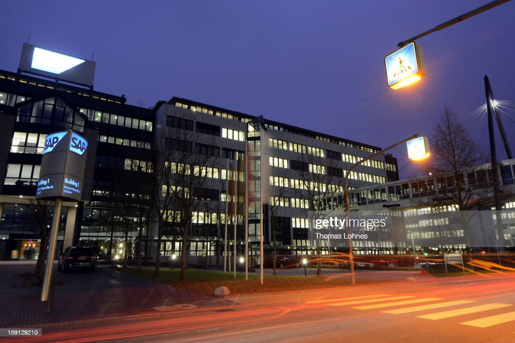 A general view of the headquarters of SAP AG, Germany's largest software company on January 8, 2013 in Walldorf, Germany. The software giant plans to continue to expand its research and development centres throughout Asia.