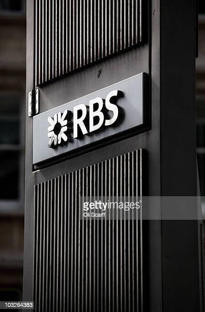 A general view of the headquarters of The Royal Bank of Scotland in the City of London on August 6 2010 in London England RBS which is 84% owned by...