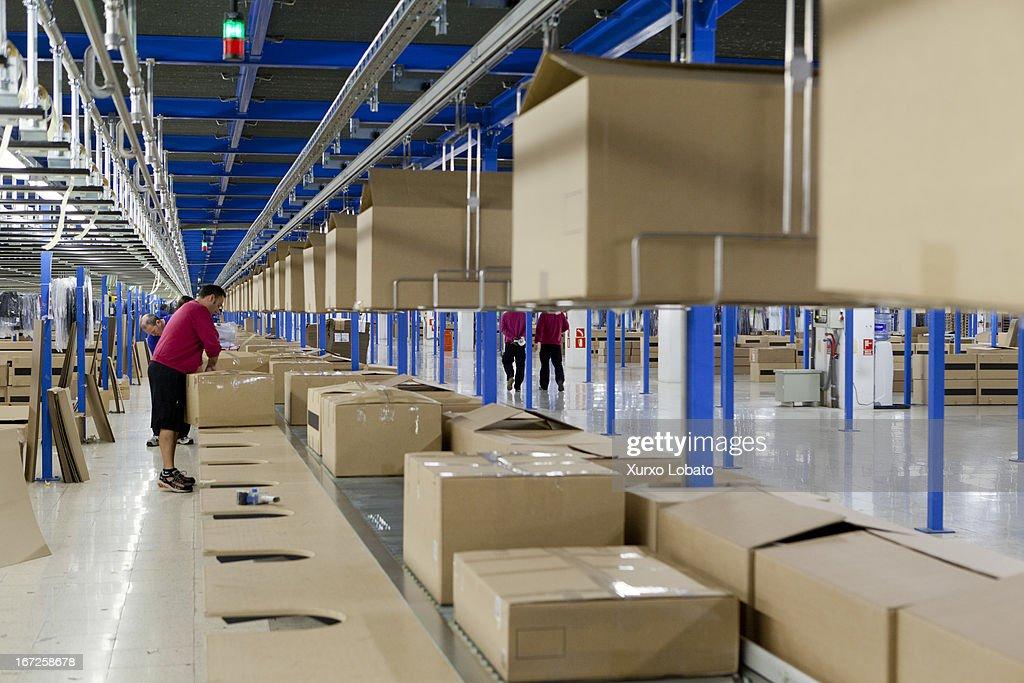 Inside The Headquarters of Zara : News Photo