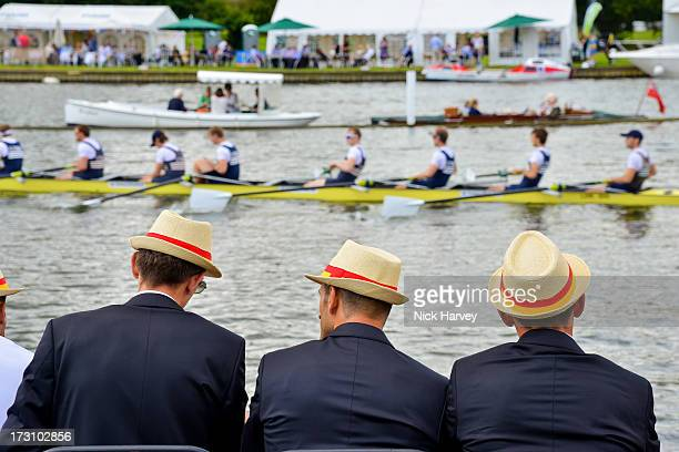 General view of the Henley Festival 2013 on July 7 2013 in HenleyonThames England