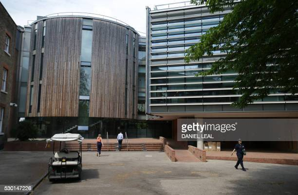 A general view of the Herbarium at Kew Gardens in southwest London on May 9 2016 Britain's Royal Botanic Gardens warned on May 10 about the threats...