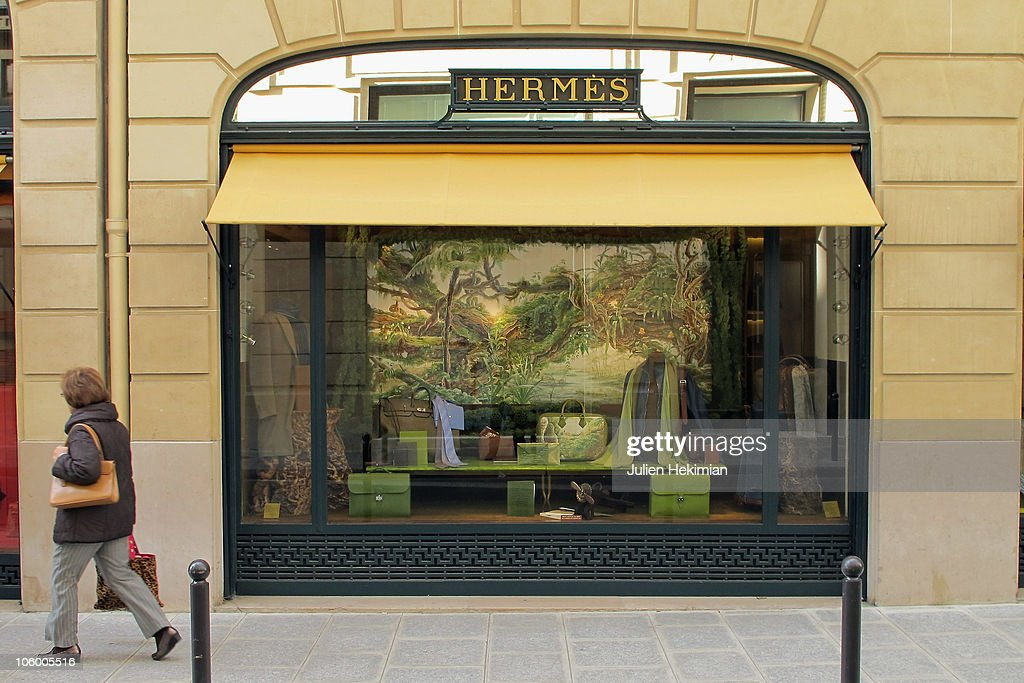 Hermes 24, Rue Du Faubourg St Honore Historical Shop Photos and ...