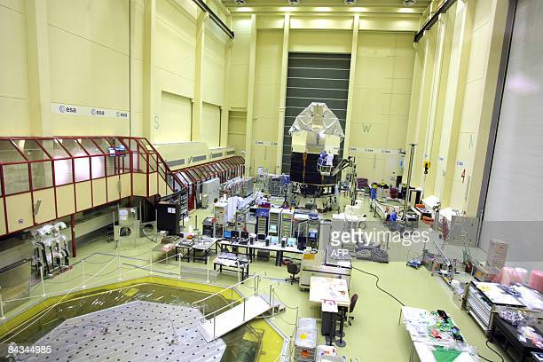 OUT A general view of the Herschel space telescope assembly hall of ESA�s European Space Research and Technology Centre ESTEC in Noordwijk...