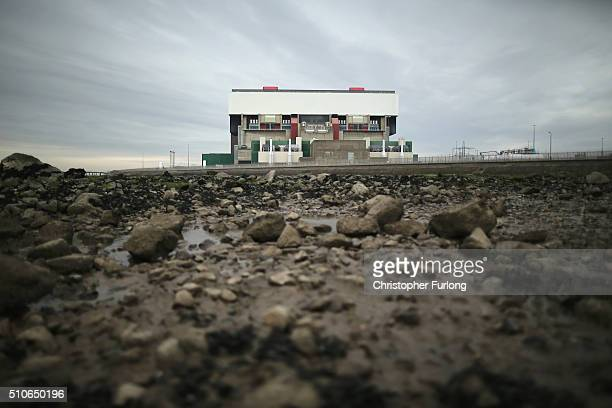 A general view of the Heysham 2 nuclear power station on February 16 2016 in Heysham England French energy provider EDF has announced that the life...