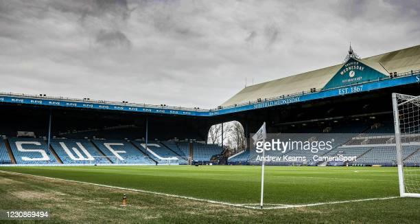 General view of the Hillsborough stadium during the Sky Bet Championship match between Sheffield Wednesday and Preston North End at Hillsborough...