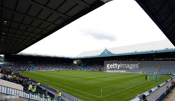 A general view of the Hillsborough Stadium during the Sky Bet Championship match between Sheffield Wednesday and Burnley at Hillsborough Stadium on...