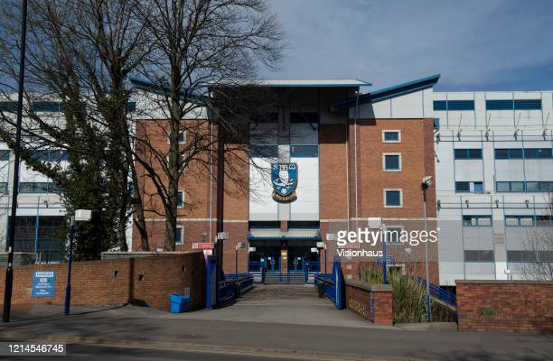 A general view of the Hillsborough Stadium home of Sheffield Wednesday Football Club on March 23 2020 in Sheffield England