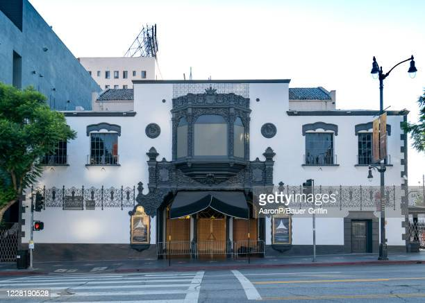 General View of the historic Avalon nightclub at Hollywood and Vine on August 24, 2020 in Los Angeles, California.
