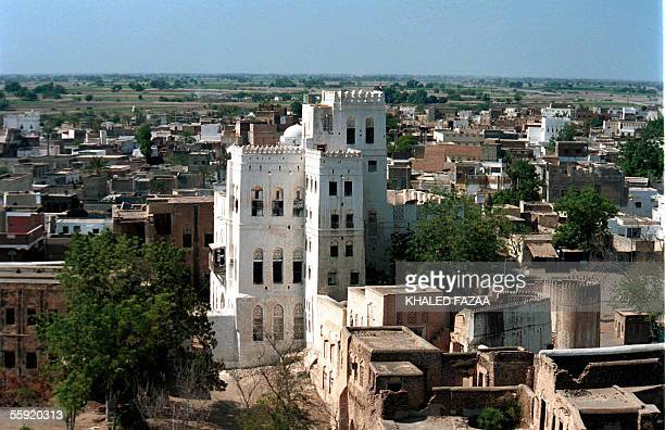 General view of the historical Yemeni city of Zabid on the Red Sea, 325 kms west of the captial Sanaa in the Hodeidah province, 16 January 2004....