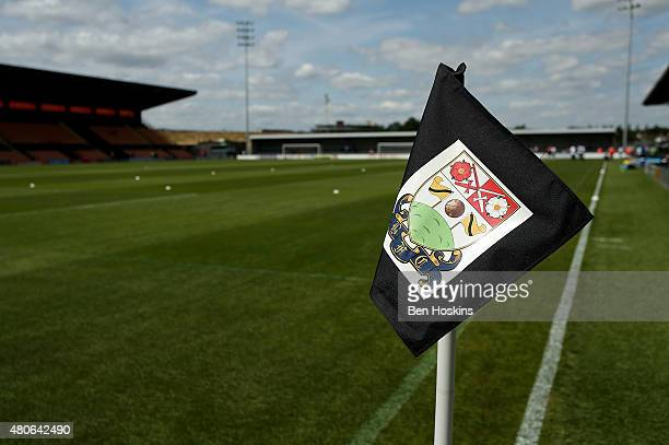 A general view of The Hive ahead of a Pre Season Friendly between Barnet and Crystal Palace at The Hive on July 11 2015 in Barnet England