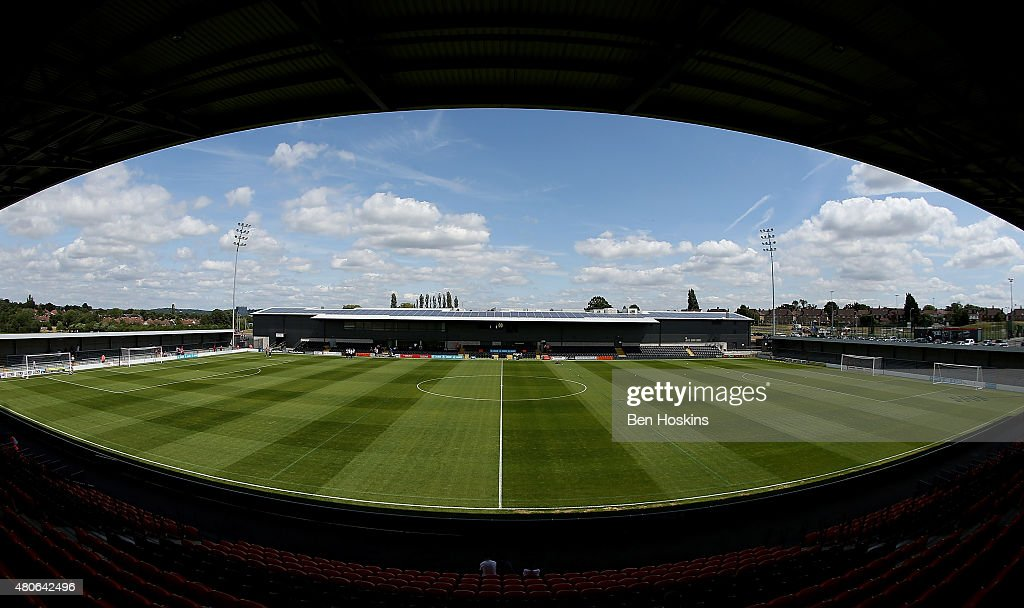 A general view of The Hive ahead of a Pre Season Friendly between Barnet and Crystal Palace at The Hive on July 11, 2015 in Barnet, England.
