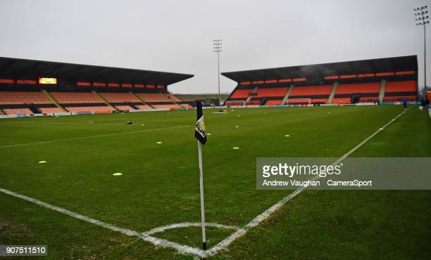 A general view of The Hive Stadium home of Barnet FC prior to the Sky Bet League Two match between Barnet and Lincoln City at The Hive on January 20...
