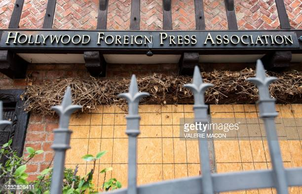 General view of the Hollywood Foreign Press Association who organizes the Golden Globes on May 11 in West Hollywood, California. - NBC just canceled...
