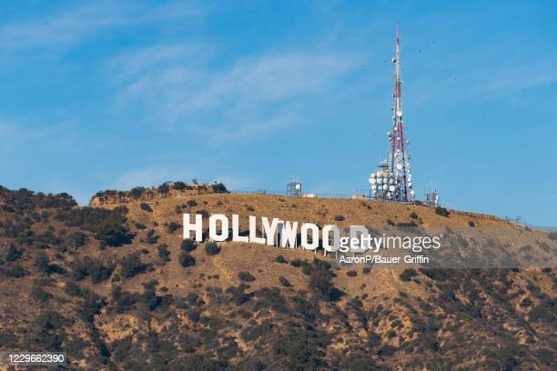 General view of the Hollywood Sign on November 17, 2020 in Hollywood, California.