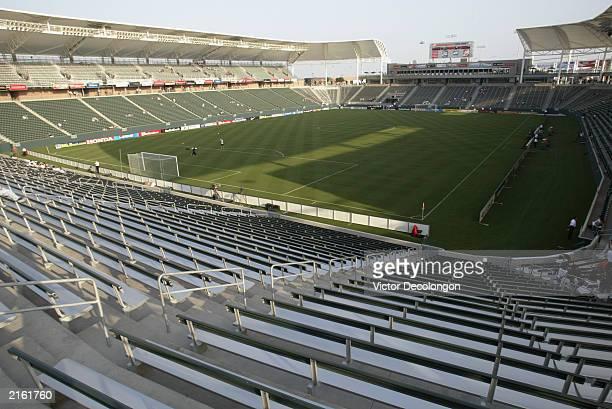General view of the Home Depot Center prior to the MLS game match between the Los Angeles Galaxy and the Colorado Rapids at Home Depot Center on July...