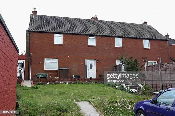 General view of the home of Yvette Foreman , a former girlfriend of Raoul Moat on July 09, 2010 in Rothbury, England. Police continue to search the...